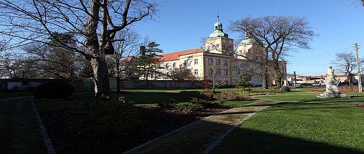 Pałac rodu Prószkowskich w Prószkowie