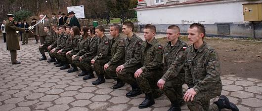 Klasa o profilu wojskowym w Zespole Szkół w Tułowicach
